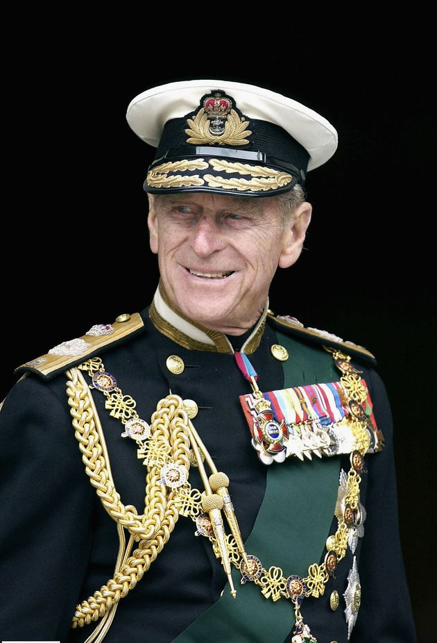 Prince Philip pictured in