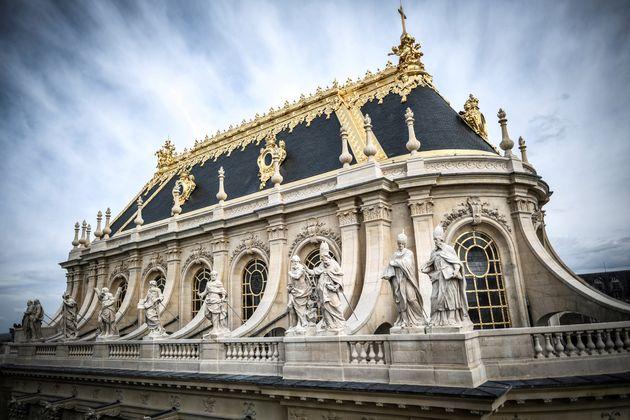 Une chapelle royale du château de Versailles a été restaurée (Image prise...