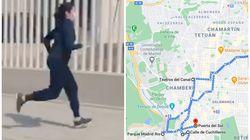 Hemos seguido la ruta que corre Ayuso en este vídeo y esta es la delirante distancia que ha