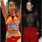 Ruth Beitia, de la pista de atletismo a lucir transparencias en la