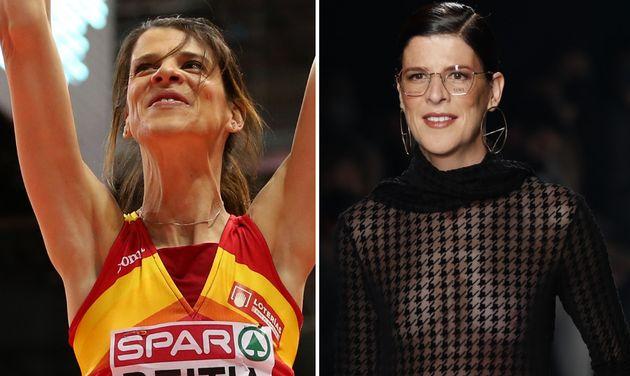 Ruth Beitia, de las pistas de atletismo a lucir transparencias en la