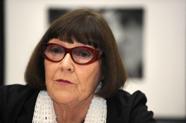 La photographe australienne June Newton le 18 juin 2008 dans les locaux de sa fondation à Berlin.