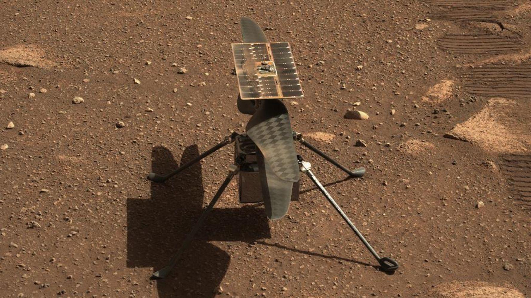 Le vol de l'hélicoptère Ingenuity sur Mars retardé à cause d'un problème technique