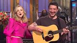 "Carey Mulligan and husband Marcus Mumford on ""Saturday Night Live"""
