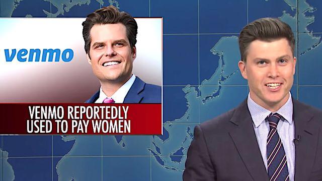 Colin Jost Skewers Matt Gaetz's Worst Supporters On 'SNL'.jpg