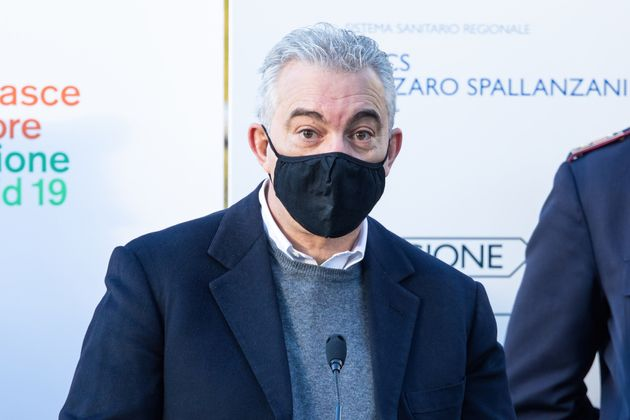 ROME, ITALY - 2020/12/27: The extraordinary commissioner for the Covid-19 emergency, Domenico Arcuri...