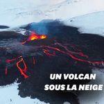 En Islande, les sublimes images du volcan Fagradalsfjall sous la