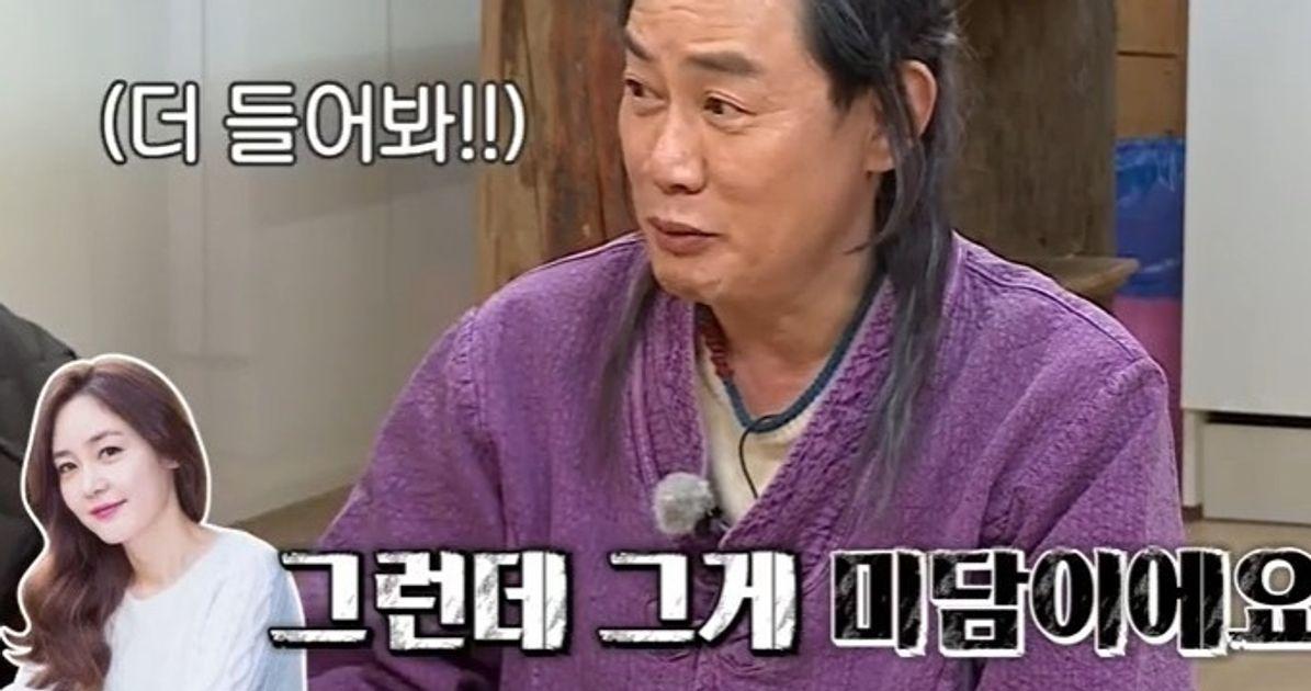 """""""김민정과 방송하더니 나 모른다고"""" 성유리가 이경규에게 느꼈던 서운함을 토로했다"""