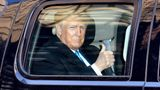 Former President Donald Trump, seen here on March 9, reportedly criticized Sen. Mitch McConnell and fellow Republicans in a speech Saturday night.
