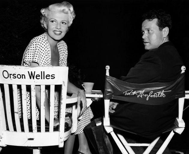 Ο Όρσον Γουέλς με την σταρ και τότε σύζυγο του, Ρίτα Χέιγουορθ, το 1947.