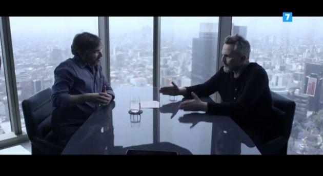 Un momento de la entrevista de Jordi Évole a Miguel