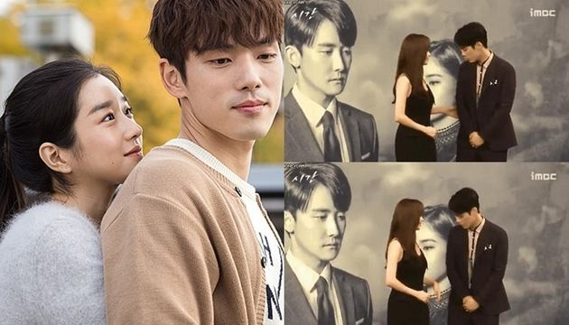 배우 김정현이 과거 드라마 '시간(2018)' 촬영 중 스킨십 장면을 거부한 이유가 당시 연인이었던 서예지의 지시 때문이었다는 보도가 나왔다. 오른쪽 장면은 '시간 ' 제작발표회 당시...