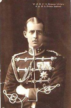 Ο Πρίγκηπας Ανδρέας, πατέρας του