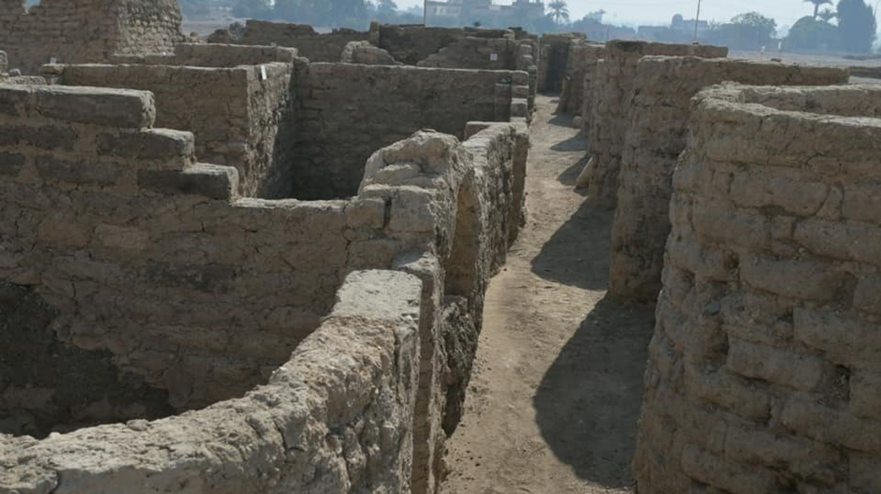 'Lost Golden City' Discovered In Egypt, Complete With A Mysterious Skeleton
