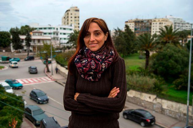La activista Helena Maleno, en Tánger, ciudad de donde fue deportada a finales de
