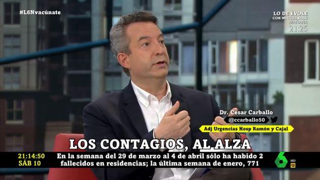 César Carballo en 'laSexta
