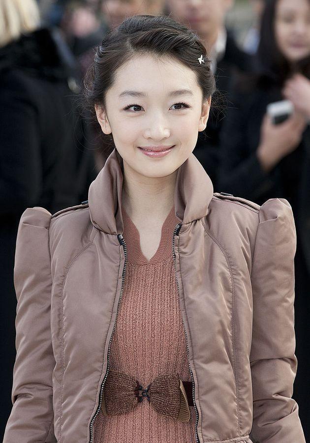 La actriz china Dongyu Zhou era imagen de
