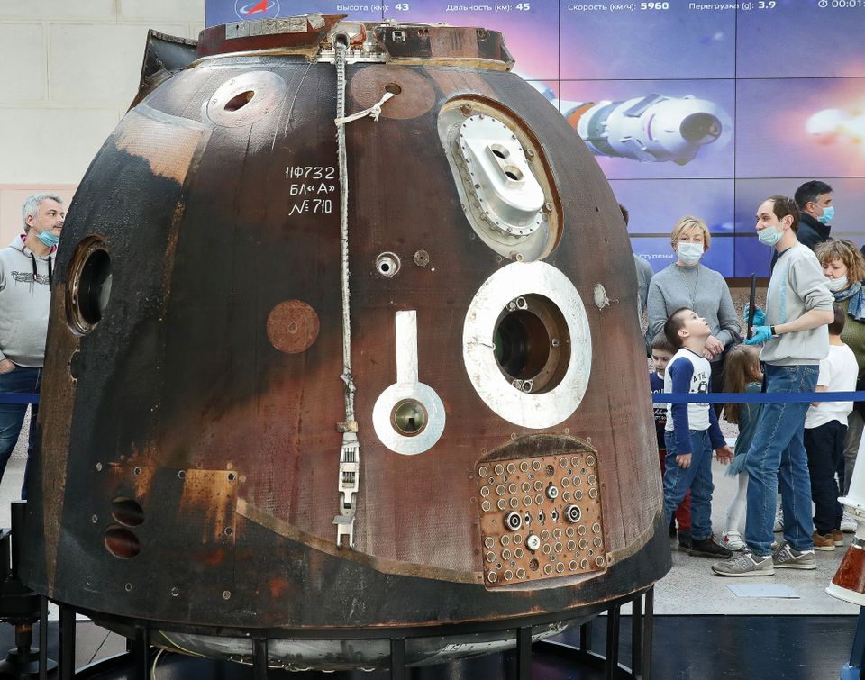 Η κάψουλα Soyuz