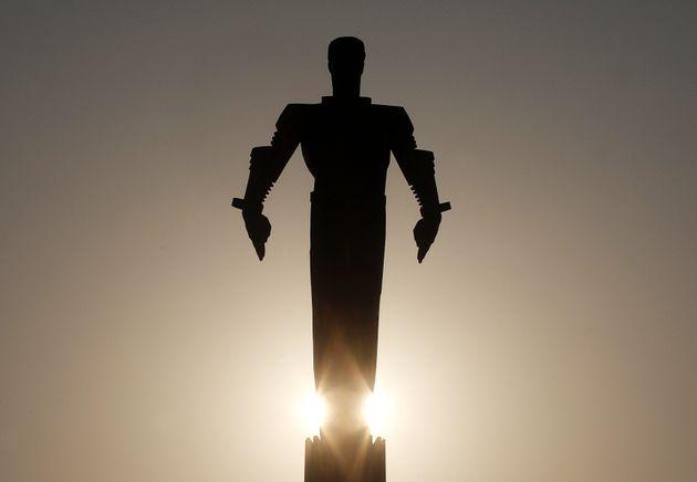 Άγαλμα του Γκαγκάριν στη Μόσχα