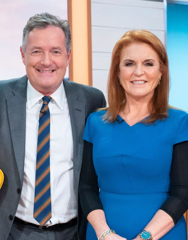 Piers Morgan Claims Sarah Ferguson Sent Message Of Support After Good Morning Britain Exit