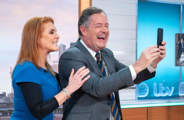 Piers joked that should start their own breakfast show following his exit from