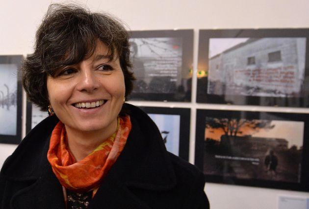 Il ministro dell'Istruzione, Maria Chiara Carrozza, durante l'inaugurazione, presso il Museo di Roma...