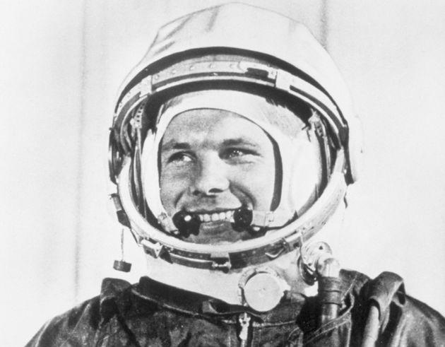 Yuri Gagarin, el primer hombre en viajar al