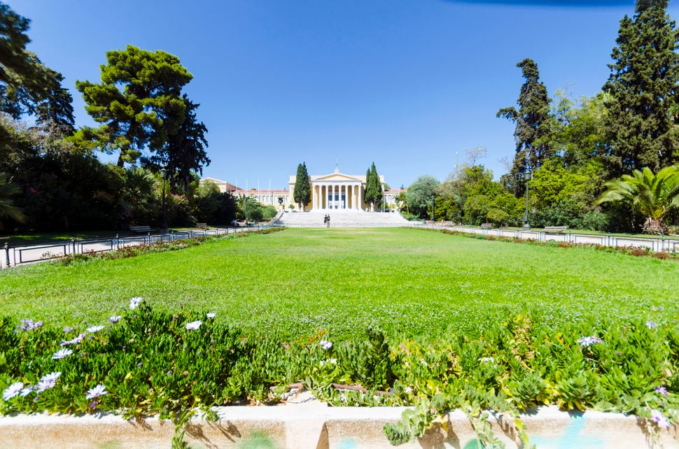 The Zappeion building in Athens, Greece