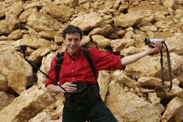 Antoine de Maximy lors du Festival du Film de Sarlat en