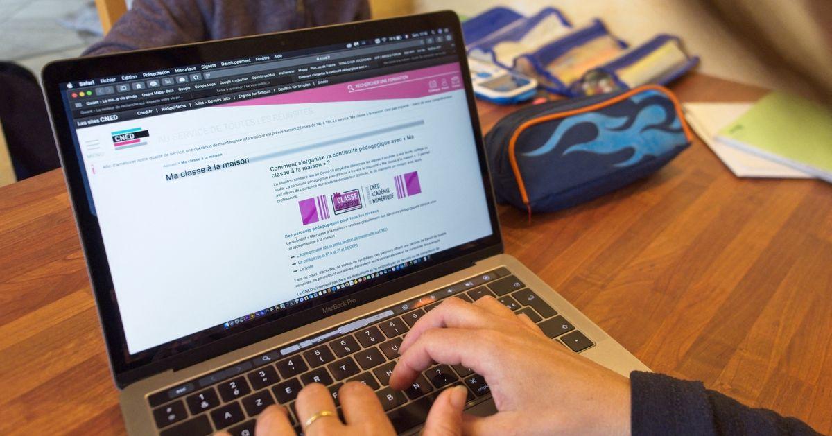 """""""Ma classe à la maison"""": Le Cned a bien été victime de cyberattaques venues de l'étranger"""