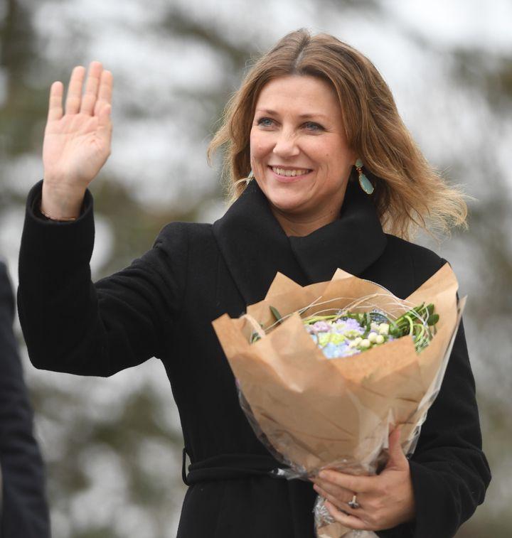 La princesa Martha Louise de Noruega en una imagen de 2018.