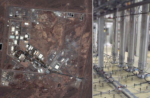 Iran, impianto nucleare di