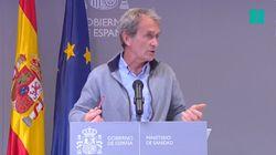 Preguntan a Fernando Simón si Madrid manipula los datos y su respuesta no puede ser más