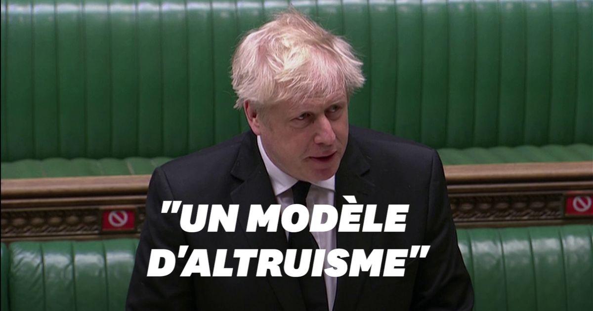 """Boris Johnson rend hommage au Prince Philip, """"soutien sans relâche"""" d'Élisabeth II"""