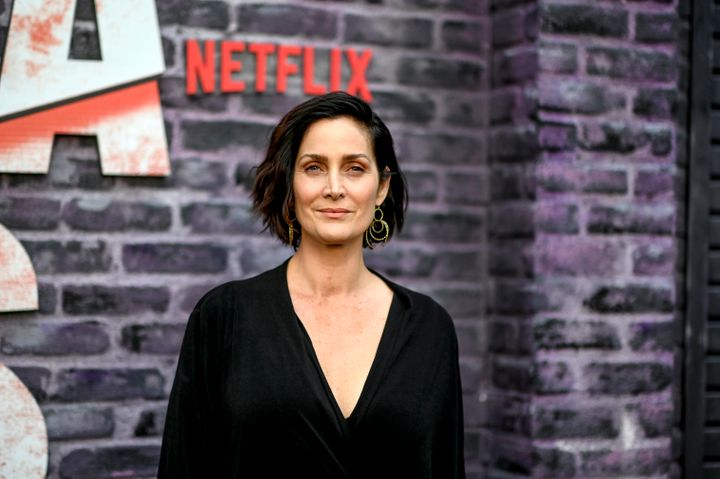 Carrie-Anne Moss in 2019. Moss said she'd been warned by fellow actors that her opportunities would diminish in he