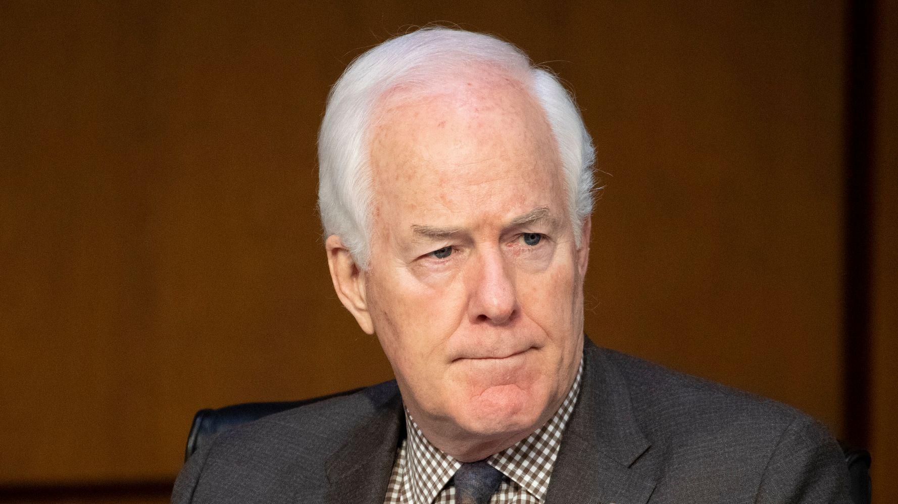 White House Gives Sen. John Cornyn A Lesson In Presidential Behavior