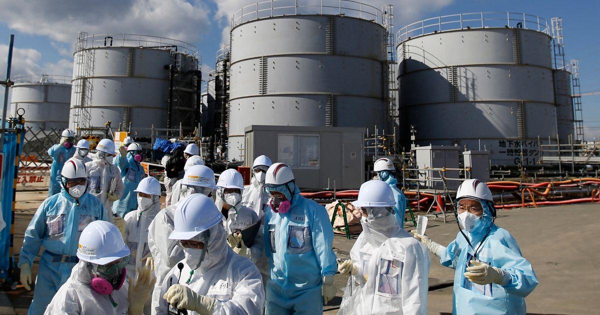 Le Japon relâche de l'eau radioactive mais nos centrales aussi