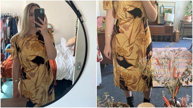 A vintage dress for under £6
