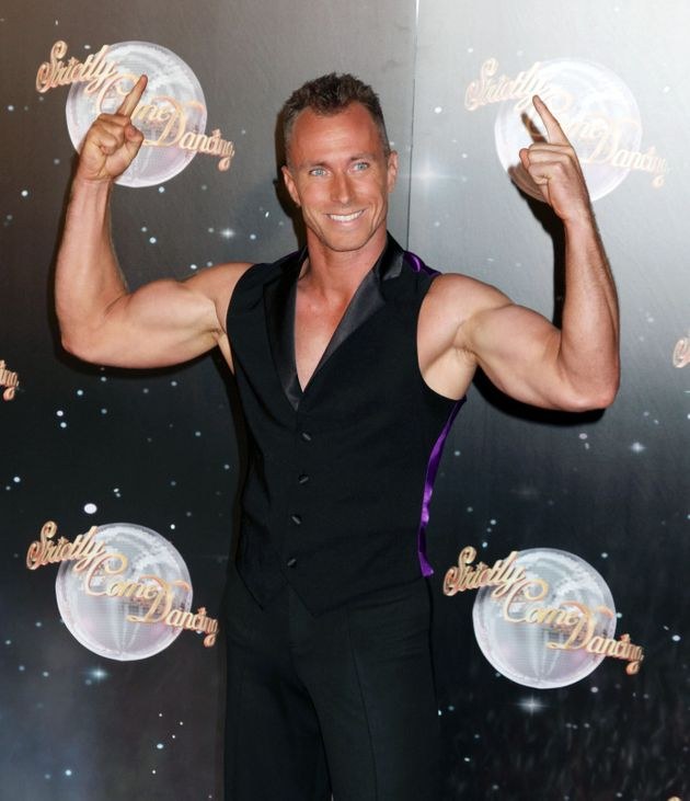 James Jordan at the Strictly Come Dancing launch in 2012