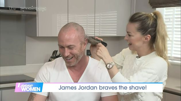Ola shaved her husband's head live on Loose Women
