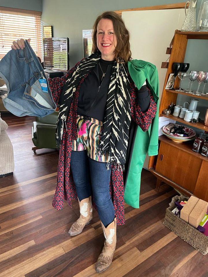Rosanna's charity shop haul