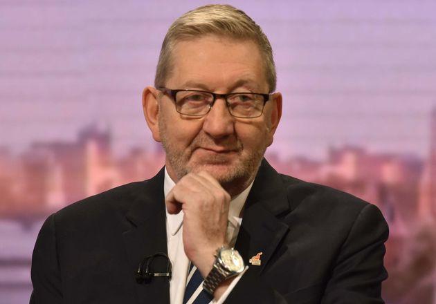 Len McCluskey, general secretary of Unite the