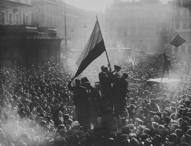 Celebraciones por la proclamación de la Segunda República española el 14 de abril de