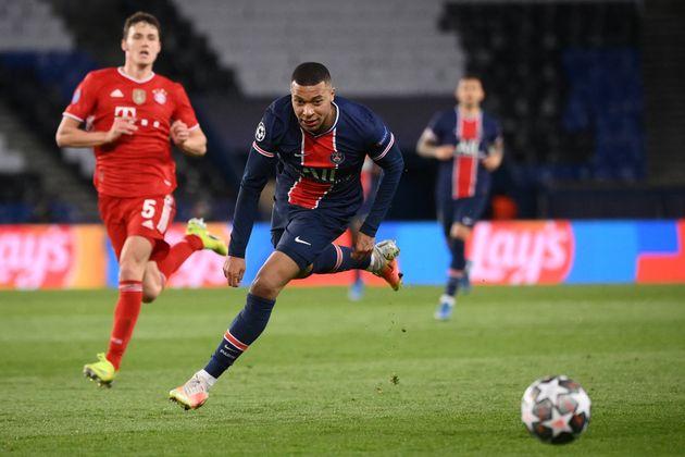 Kylian Mbappé, ici lors de PSG-Bayern Munich en Ligue des champions, le 13 avril