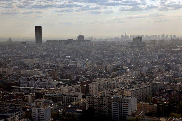 Une vue aérienne de Paris, en septembre 2020. (photo d