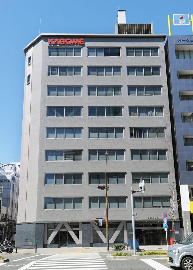 調味食品、保存食品、飲料などの製造・販売を行うカゴメ本社(名古屋市中区)