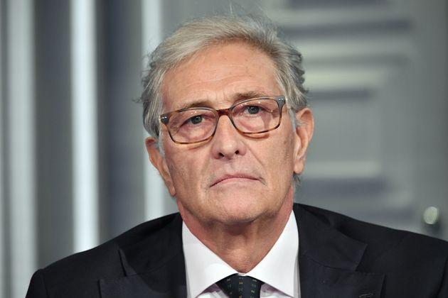 06/10/2020 Roma. Rai. Programma televisivo Porta a Porta, nella foto dott. Guido Rasi direttore esecutivo...