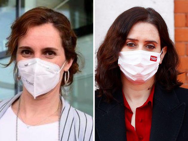 Mónica García e Isabel Díaz