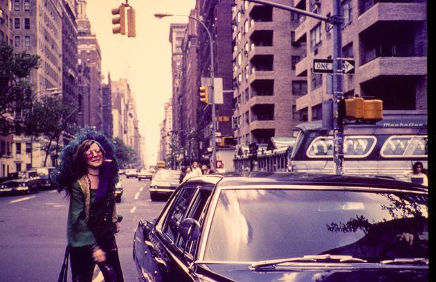 Η Τζάνις Τζόπλιν, καλοκαίρι του 1970 στην Νέα Υόρκη