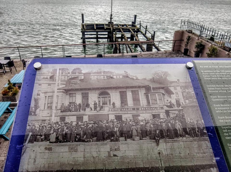 Titanic Experience a Cobh, il pontile di